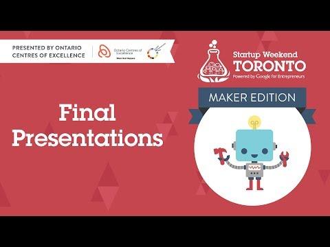 Startup Weekend Toronto Presentations