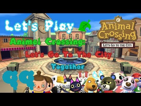 Lets Play Animal Crossing Lets Go To The City Germantogether