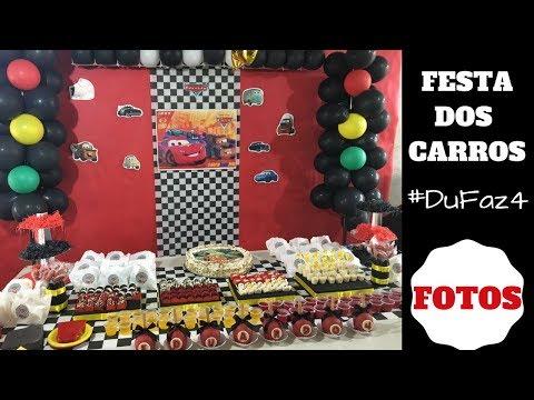 FESTA DO MCQUEEN/CARROS DISNEY - #DuFaz4