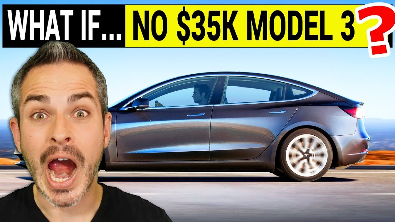 What if Tesla Never Makes the $35,000 Version of the Model 3?