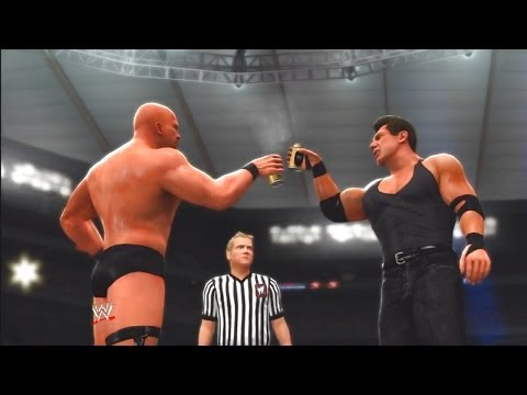 "WWE 2K14: 30 Years of WrestleMania - The Attitude Era - 4 (Austin vs The Rock ""WM17"")"