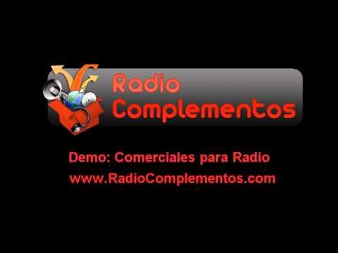 Radio Complementos - Demo Spots y Comerciales de Radios