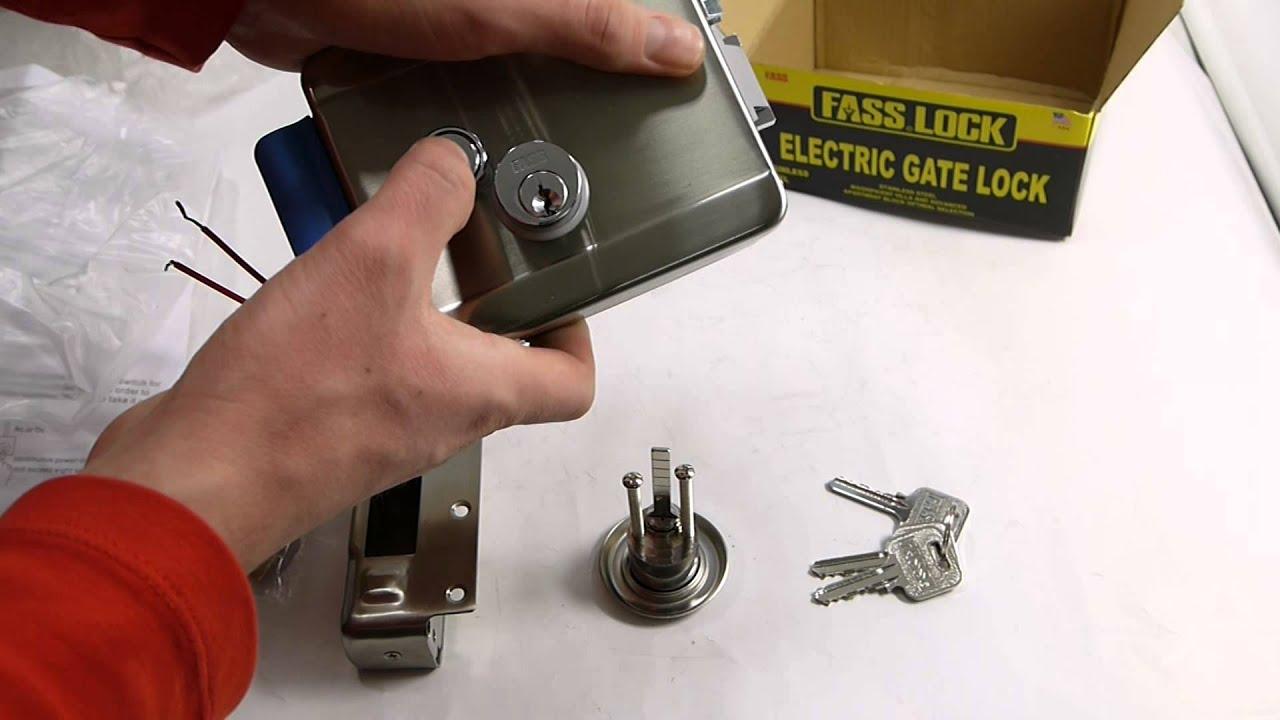 инструкция по установке электромеханического замка falcon eye 2369