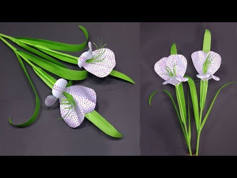 Paper Flower Stick: How to Make DIY Paper Stick Flower idea | Flower | Abigail Paper Crafts