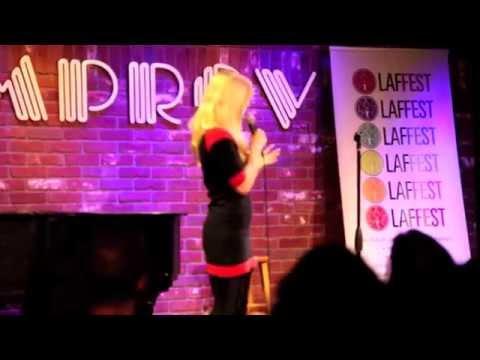 Melinda Hill Performs at Hollywood Improv