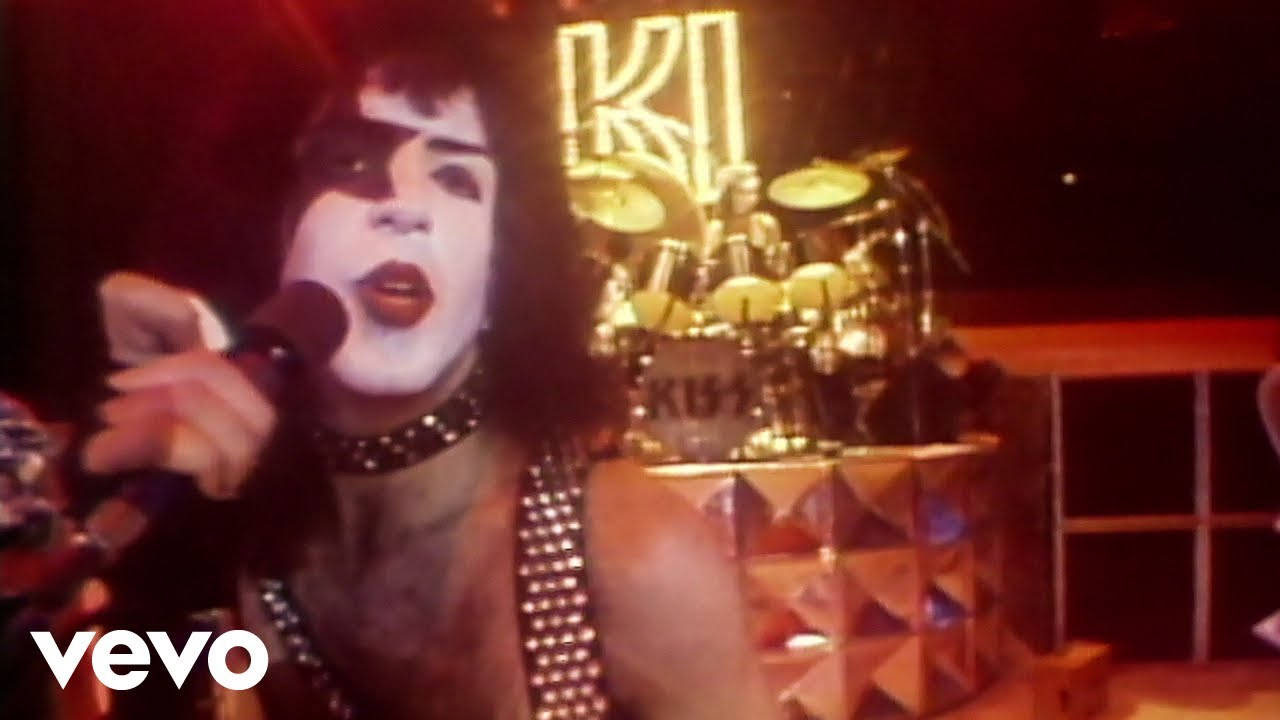 Kiss I Was Made For Lovin You Youtube