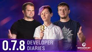 Developer Diaries 0.7.8 | World of Warships