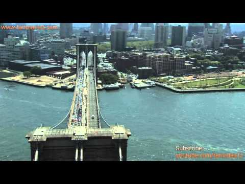 Bridges of New York City 2, NY, USA, Collage Video - youtube.com/tanvideo11