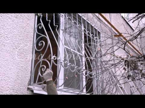 Кованые решетки для балконов и окон - Стальной Декор