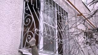 Кованые решетки для балконов и окон - Стальной Декор(Решетки на окна от 700 руб. кв/м. Без предоплаты., 2015-03-24T11:03:16.000Z)