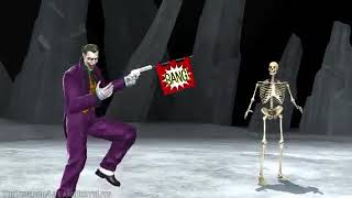 Mortal Kombat Vs DC Universe All Fatalities and Heroic brutality en xbox 360 mod de esqueleto
