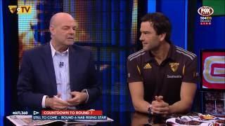 Jordan Lewis: AFL 360 pre R7, 2016