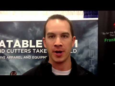 Chris Miller from Cutters wants you to stop by the booth.