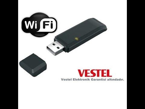 vestel wifi adaptör wifisiz televizyon internet bağlanma ekle smart ekran girme facebok tv yükle usb
