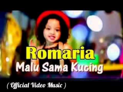 Romaria   Malu Sama Kucing  Official Video Clip + Lyrics