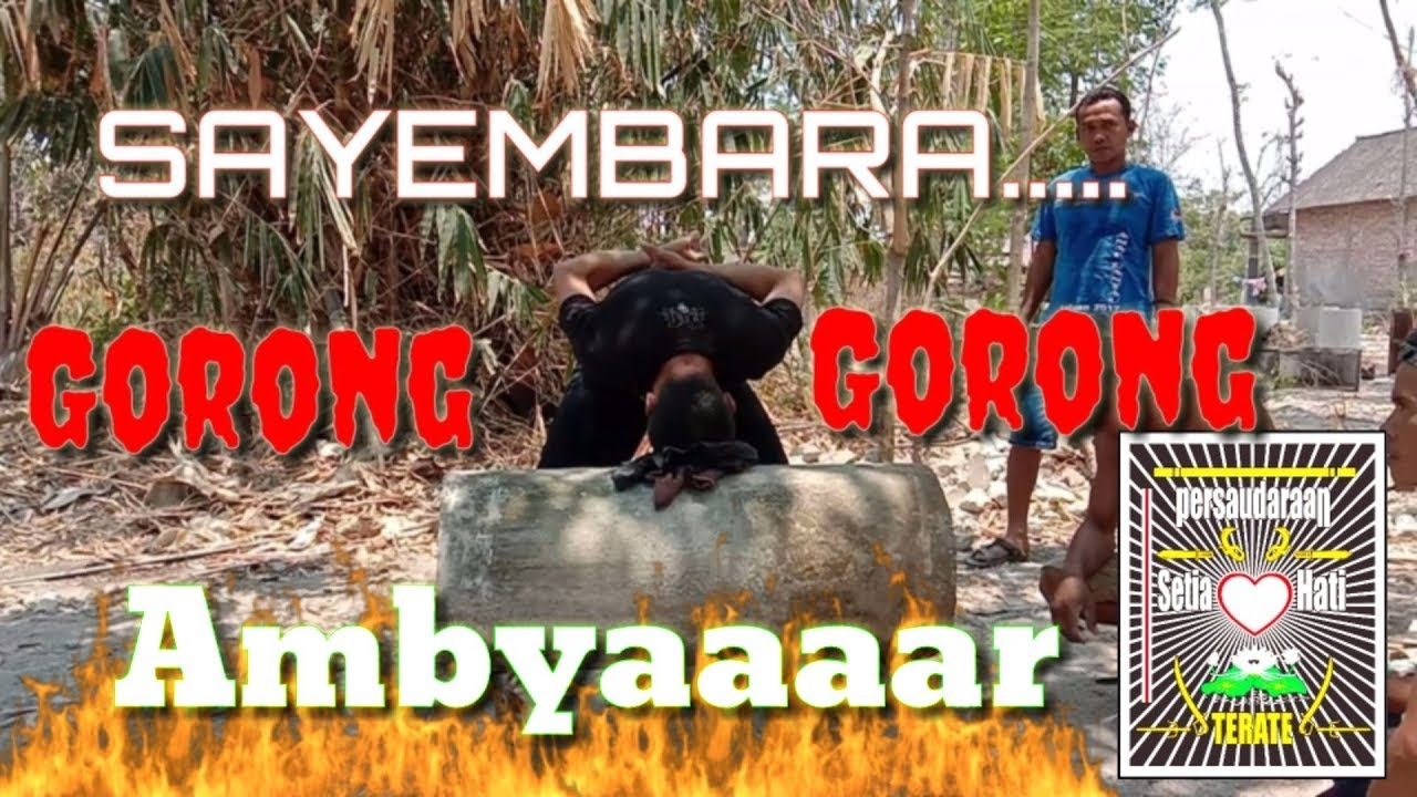 Sayembara..! Gorong_gorong - YouTube