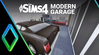 Sims 4 Garage - Room Build
