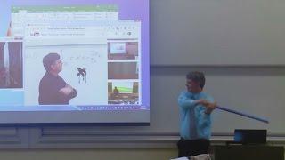Mathe-Vorlesung als viraler Hit: Professor streitet mit eigener Video-Präsentation