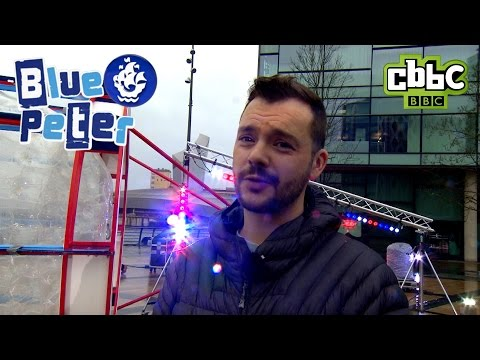 Blue Peter - Behind the Scenes at the Wave Runner launch - CBBC