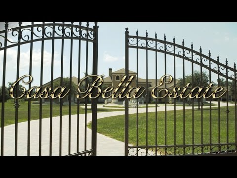 Behind the Gates tour of Casa Bella Estate Tampa Wedding Event Mansion