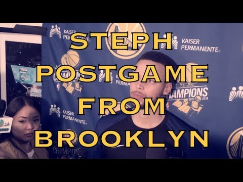 Entire STEPH CURRY postgame: