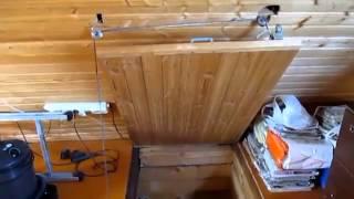 Потолочные люки: с лестницей, ревизионные, видео-инструкция по установке своими руками, фото