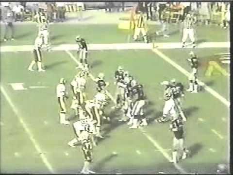 Raider Howie Long's 4 Sack Day v Redskins 1983