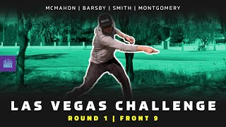 2021 Las Vegas Challenge | RD1, F9 | Barsby, McMahon, Smith, Montgomery | DISC GOLF COVERAGE