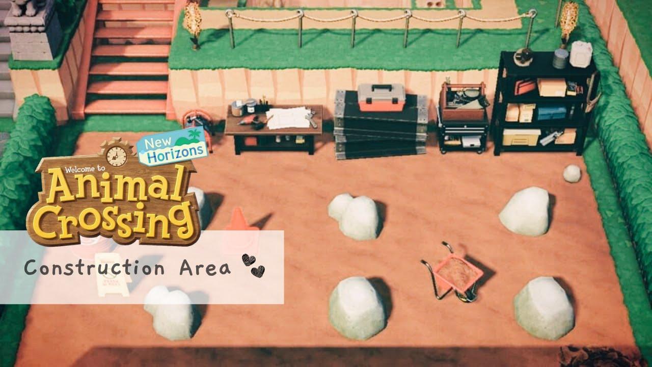 Rock Garden Ideas Animal Crossing New Horizons - YouTube