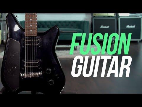 Fusion Guitar - The World's Smartest Guitar!