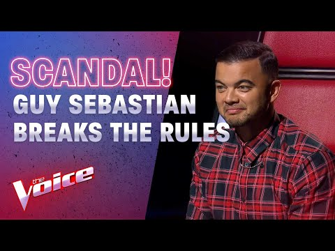 The Blind Auditions: Guy Breaks The Rules And Shuts The Show Down | The Voice Australia 2020
