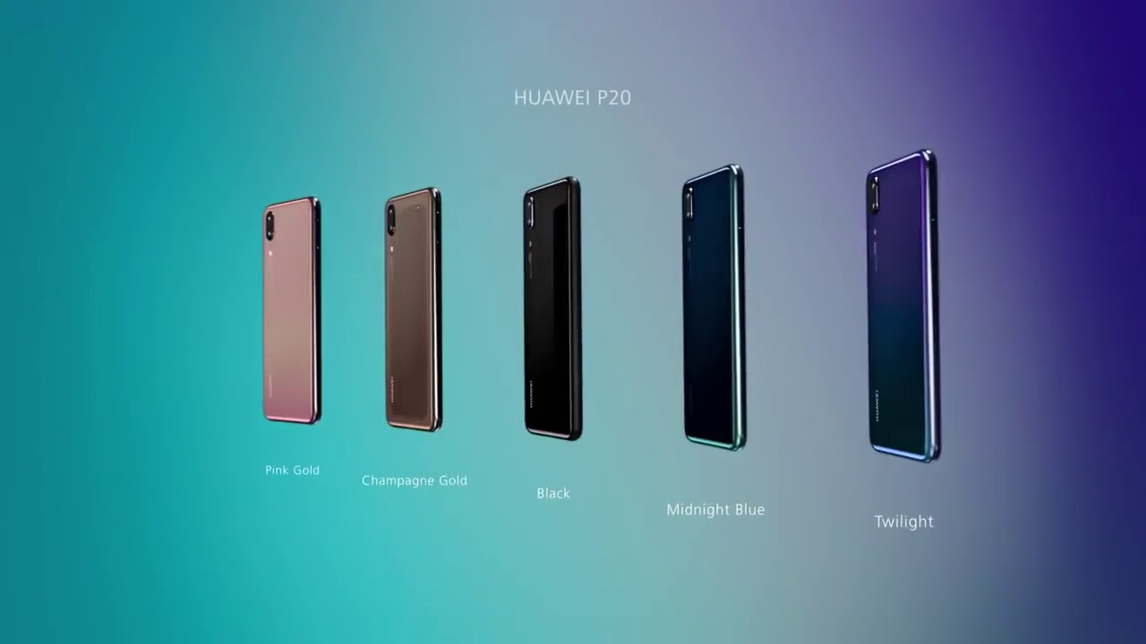 Introducing new Huawei p20 and p20pro by mobile trailer