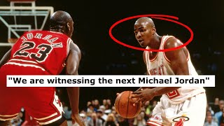 When 'The Next Michael Jordan' Came Face To Face With Michael Jordan