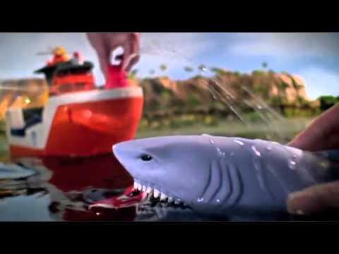 Rescue Shark Ship - Mission Marine - Matchbox