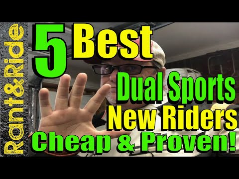 5 Best Beginner Dual Sport Motorcycles You Can Adventure Travel On And Buy Cheap