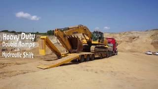 Yalçın Dorse 4DDUZ Excavator Trailer