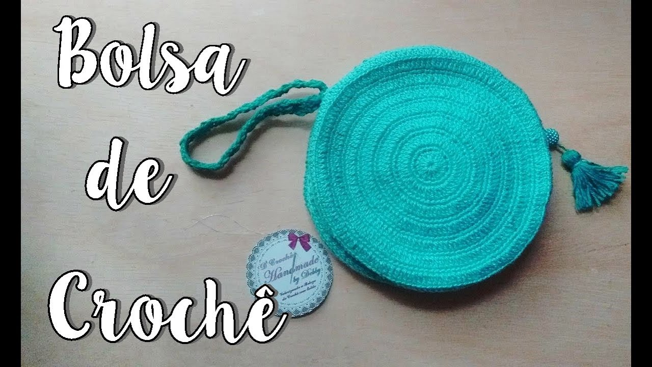 be0f0663347 Passo a Passo - Bolsa Tiffany de Crochê - YouTube