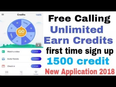 How to Get Unlimited Free Call In All Over the world //New App Free Call In 2018 .
