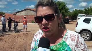 Reiniciado em Limoeiro os trabalhos de construção do calçamento no Habitacional Estrada da Flores