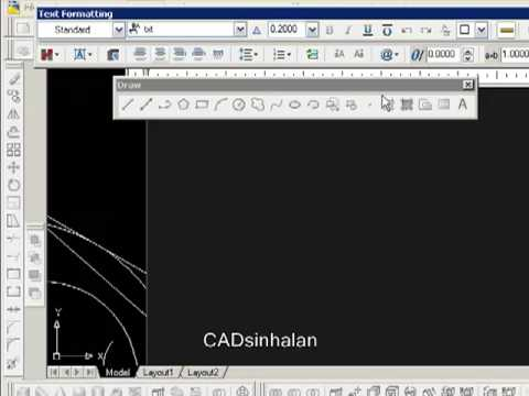 Autocad 2009 draw order not working