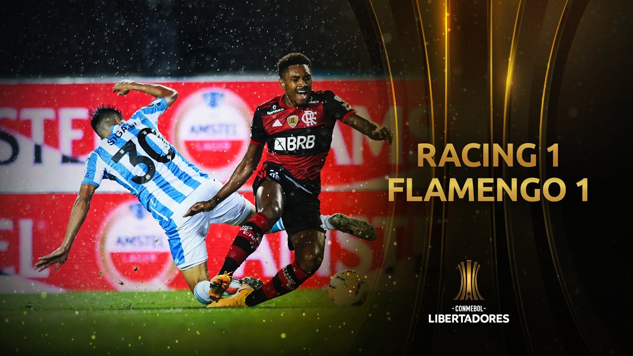 Racing Club vs. Flamengo [1-1] | RESUMEN | Octavos de Final | CONMEBOL Libertadores