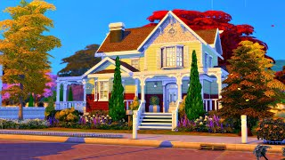 'Pembroke House' - BASE GAME ONLY HOME! || The Sims 4 Speed Build (No CC)