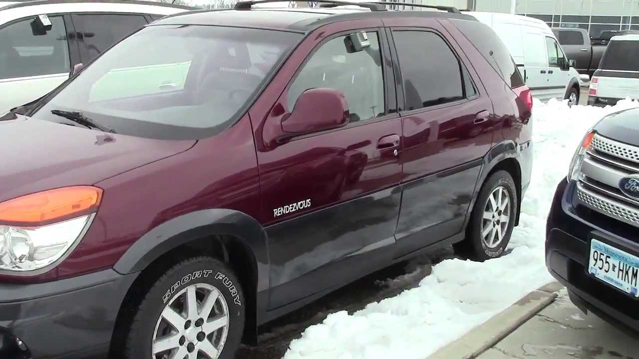 mills auto 2002 buick rendezvous youtube. Black Bedroom Furniture Sets. Home Design Ideas