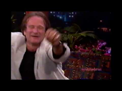 ROBIN WILLIAMS - FUNNIEST INTERVIEW