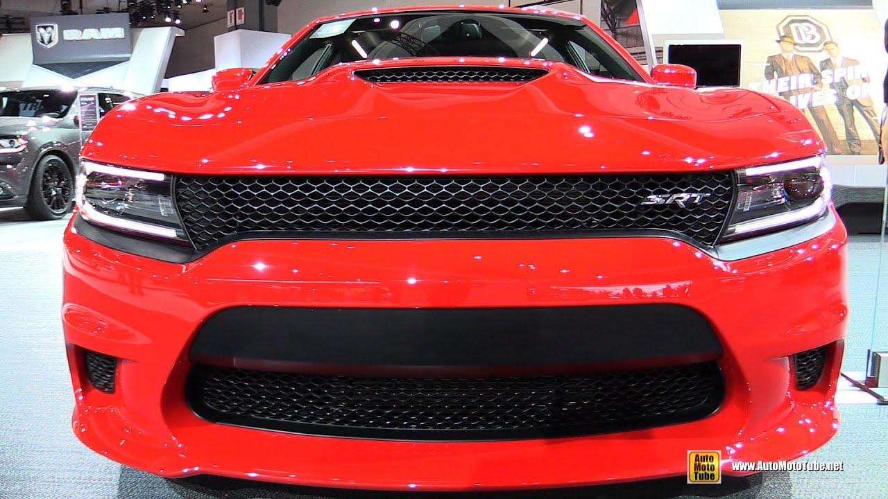 2015 Dodge Charger SRT Hellcat   Exterior And Interior Walkaround   2014 LA  Auto Show   YouTube