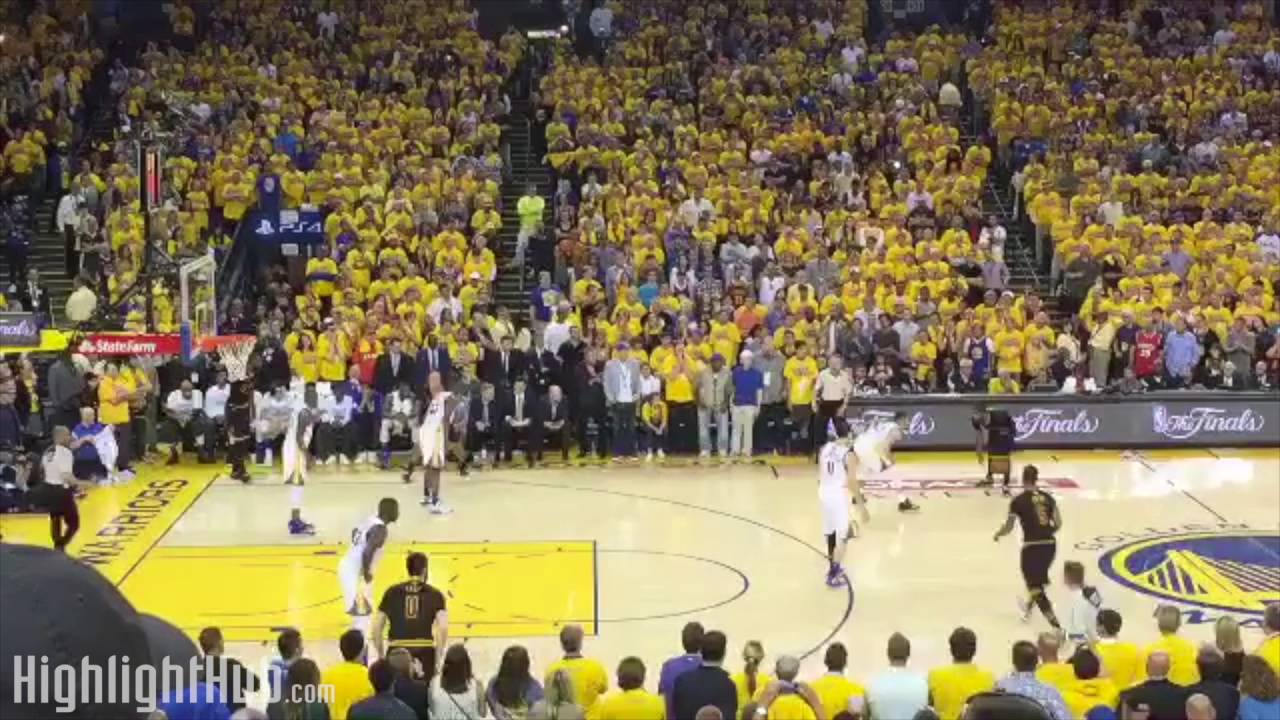 d14891e273d0 Fan View Of Cavaliers Star Kyrie Irving s Clutch Championship Winning Shot