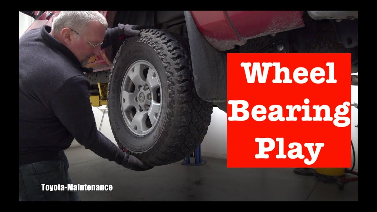 How to check a wheel bearing