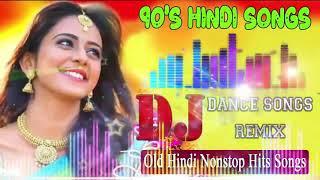 90's hindi love dj remix songs | old nonstop mashup