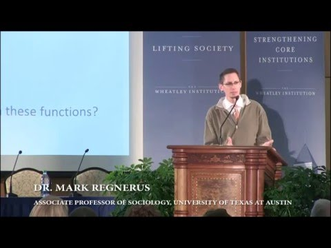 The Family Structures Study & the Challenges of Social Science - Mark Regnerus