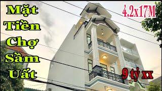 Bán nhà Gò Vấp(30🏠🚘) Nhà mặt tiền chợ kinh doanh buôn bán sầm uất đường 12M giá rẻ bất ngờ 9 tỷ xx
